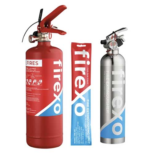 Firexo fire extinguisher supplier